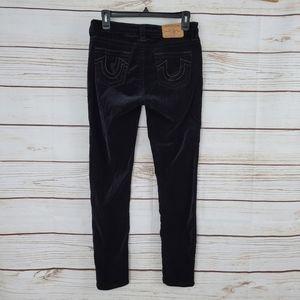 True Religion | Velvet Super Skinny Velour Pants